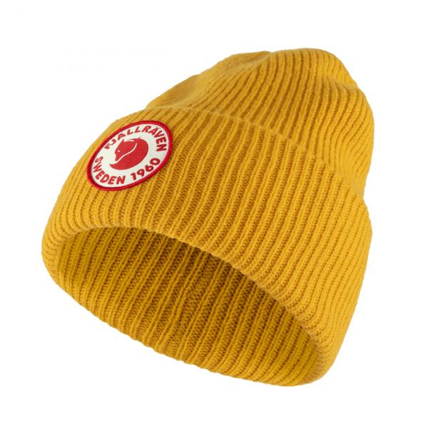 Fjallraven-1960-Logo-Beanie-Mustard-Yellow