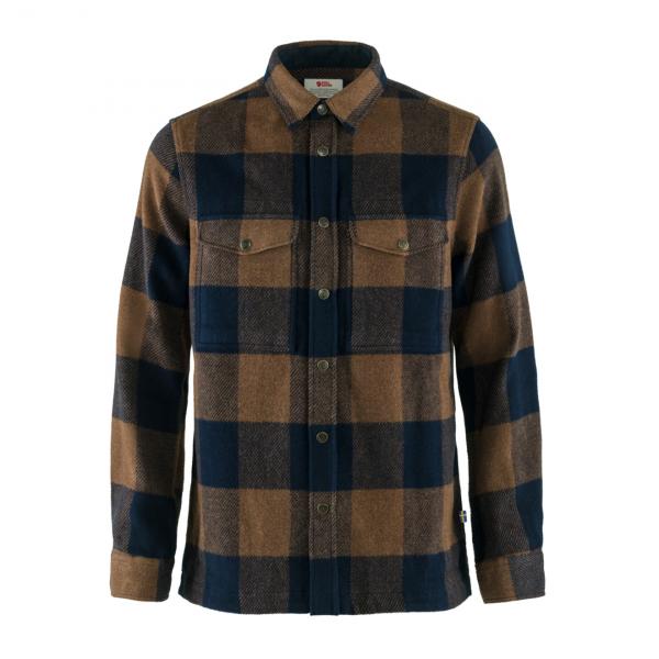 Fjallraven Canada Shirt Chestnut / Dark Navy