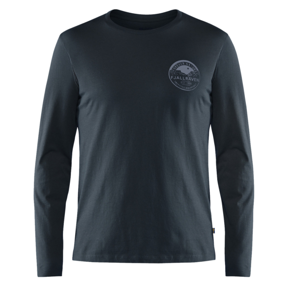 Fjallraven Forever Nature Badge LS T-Shirt Dark Navy