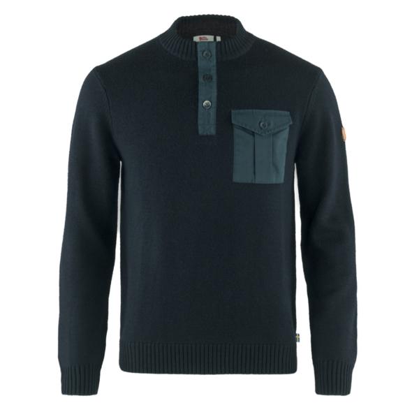 Fjallraven G-1000 Pocket Sweater Dark Navy