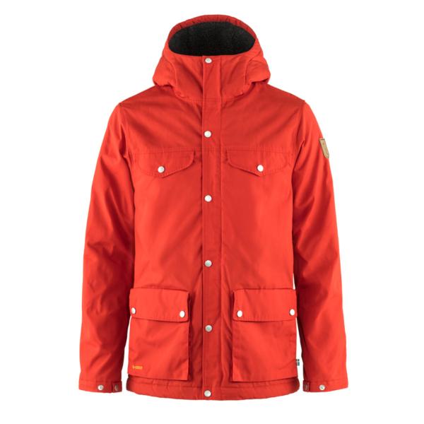 Fjallraven Greenland Winter Jacket True Red