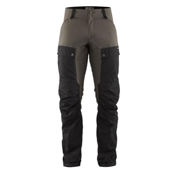 Fjallraven Keb Trousers Regular Black / Stone Grey