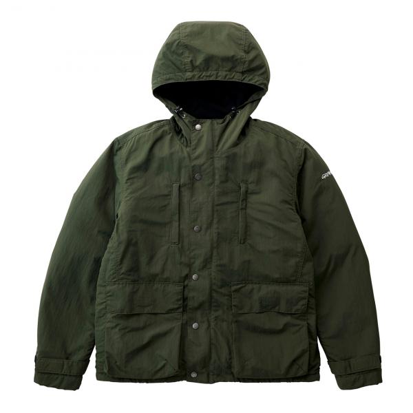 Gramicci Shell Mountain Parka Jacket Deep Olive