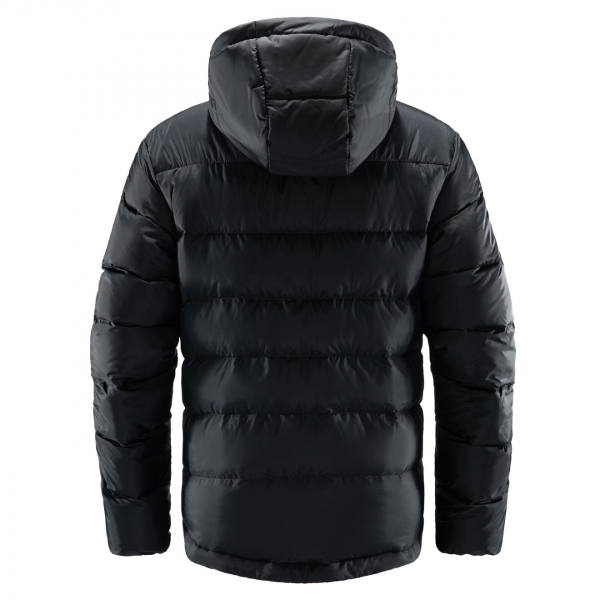Haglofs Bield Down Hood Jacket True Black