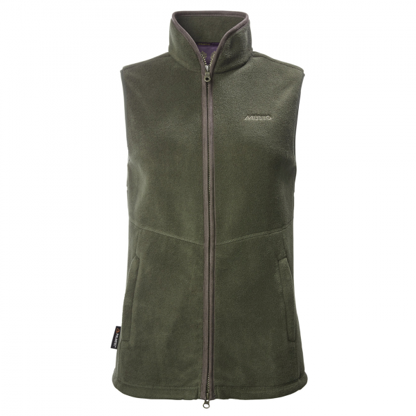 Musto Womens Glemsford Polartec Fleece Gilet Dark Moss