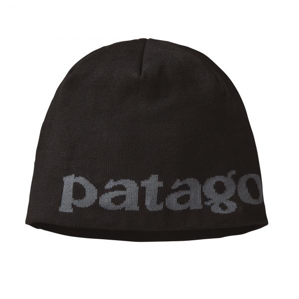 Patagonia Beanie Hat Logo Belwe / Black