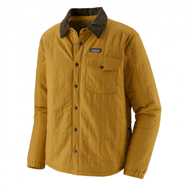 Patagonia Isthmus Quilted Shirt Jacket Buckwheat Gold