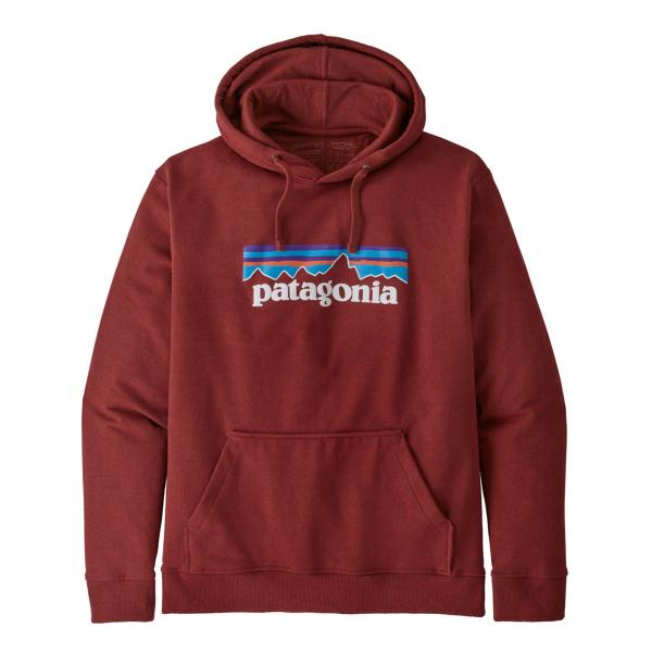 Patagonia P-6 Logo Uprisal Hoody Barn Red