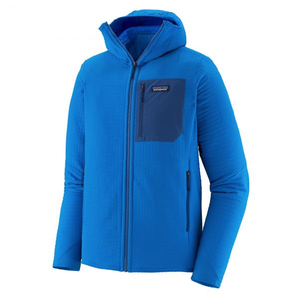Patagonia R2 TechFace Hoody Fleece Andes Blue