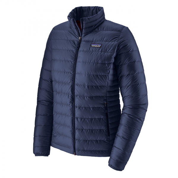 Patagonia Womens Down Sweater Jacket Classic Navy