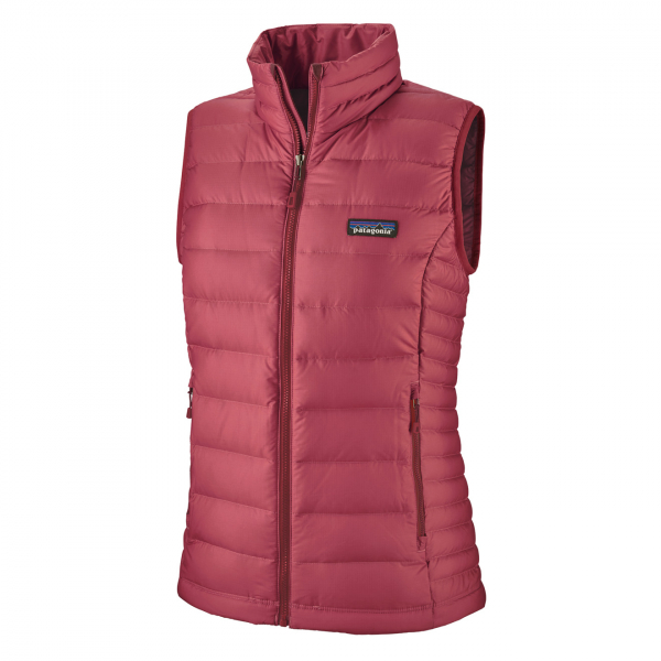 Patagonia Womens Down Sweater Vest Roamer Red