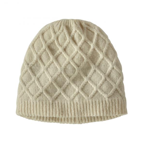 Patagonia Womens Honeycomb Knit Beanie Birch White