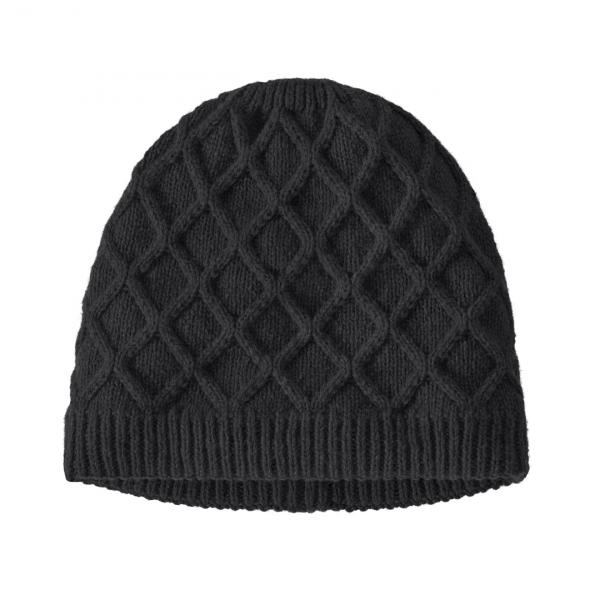 Patagonia Womens Honeycomb Knit Beanie Black