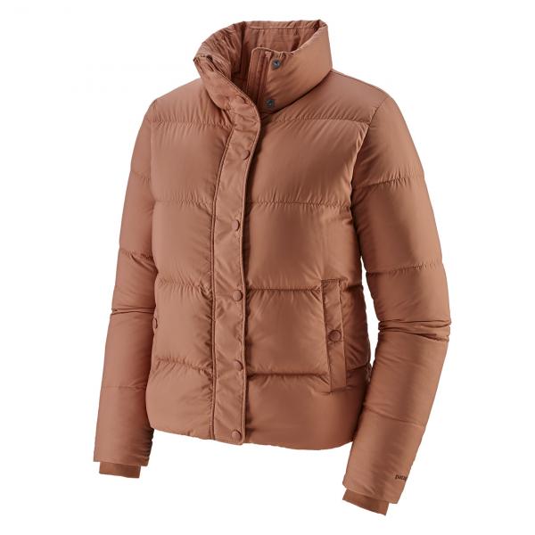 Patagonia Womens Silent Down Jacket Century Pink