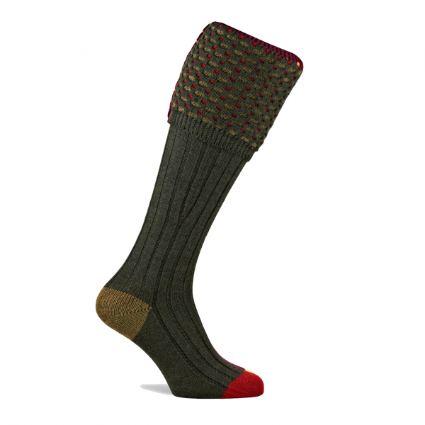 Pennine Ambassador Shooting Socks Hunter