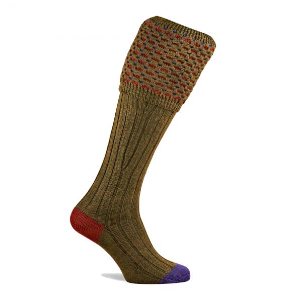 Pennine Ambassador Shooting Socks Old Sage