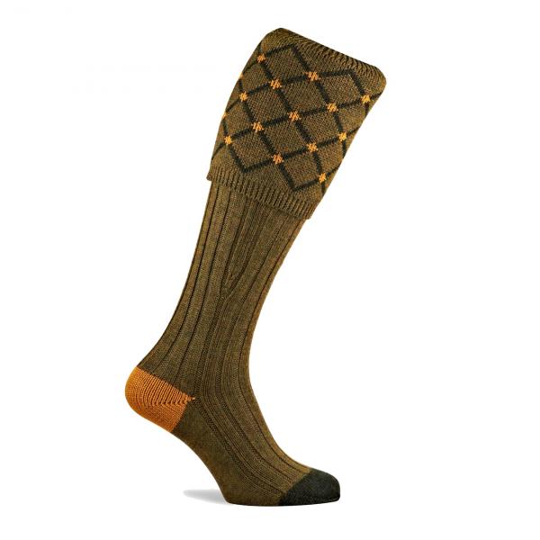 Pennine Regent Shooting Socks Old Sage