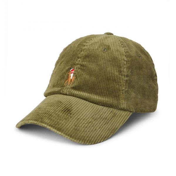 Polo Ralph Lauren Classic Corduroy Cap Sage Green