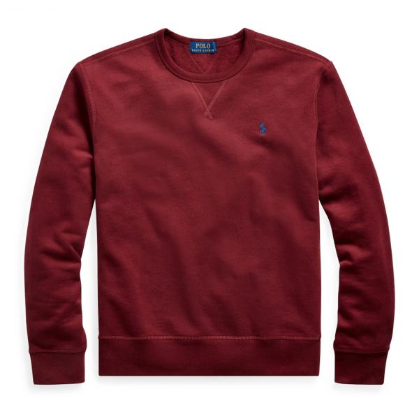 Polo Ralph Lauren Classic Crew Sweatshirt Wine