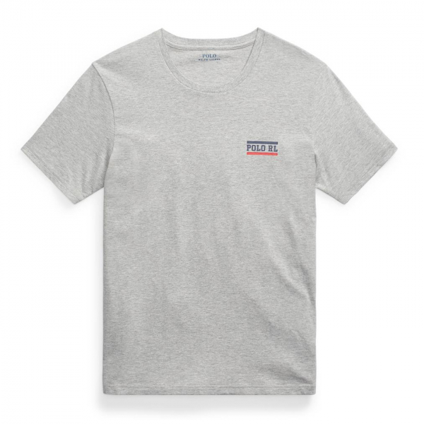 Polo Ralph Lauren Crew S/S Tape T-Shirt Grey