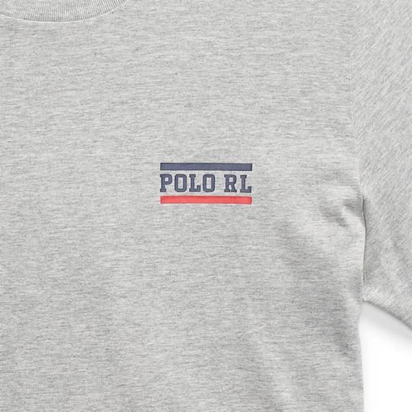 Polo Ralph Lauren Crew S/S Tape T-Shirt Grey
