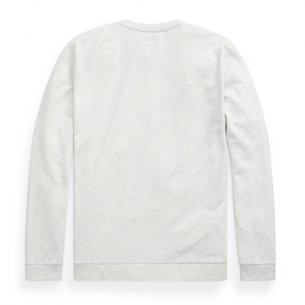 Polo Ralph Lauren Loop Back Jersey Sweat Heather