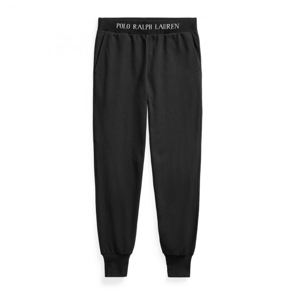 Polo Ralph Lauren Loop Back Jersey Trouser Black