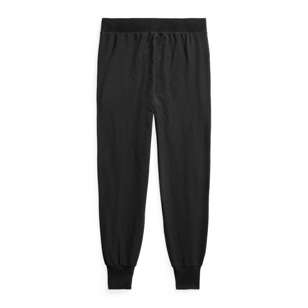Polo Ralph Lauren Loop Back Jersey Trouser Black