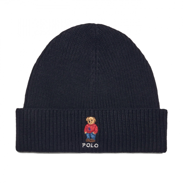 Polo Ralph Lauren Polo Bear Beanie Hat Black