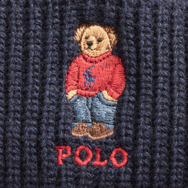 Polo Ralph Lauren Polo Bear Beanie Hat Navy