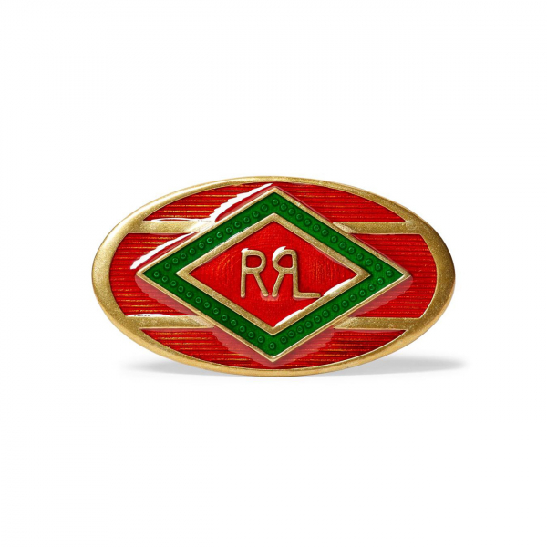 RRL by Ralph Lauren Western Pin Red / Green / Brass