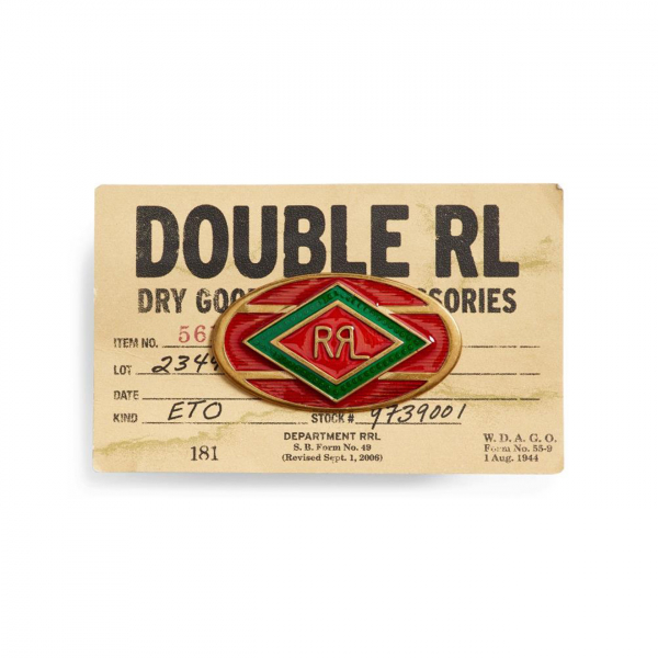 RRL by Ralph Lauren Western Pin Red / Green / Brass