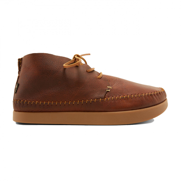 Yogi Silas Tumbled Leather Shoe Chestnut Brown