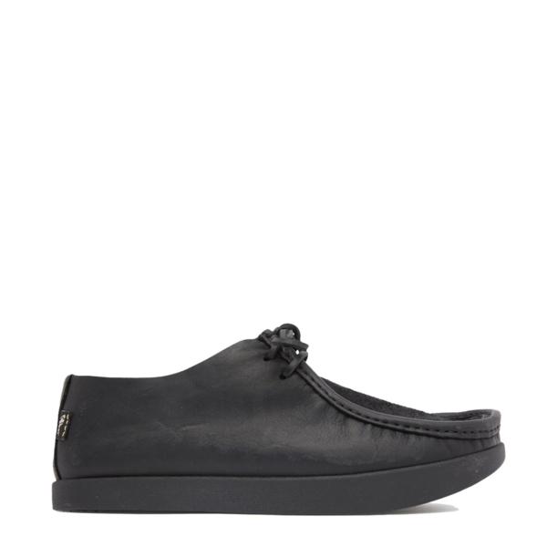 Yogi Willard Reverse Vamp Shoe Black Mono