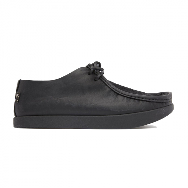 Yogi Willard Reverse Vamp Shoe Black Mono