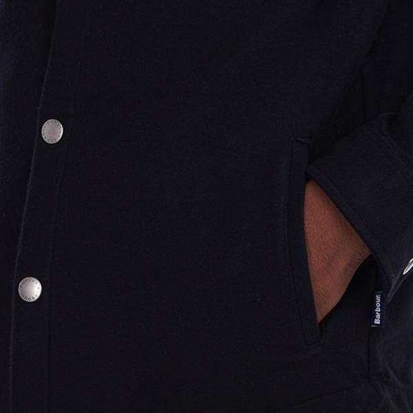 Barbour Carrbridge Overshirt L/S Black