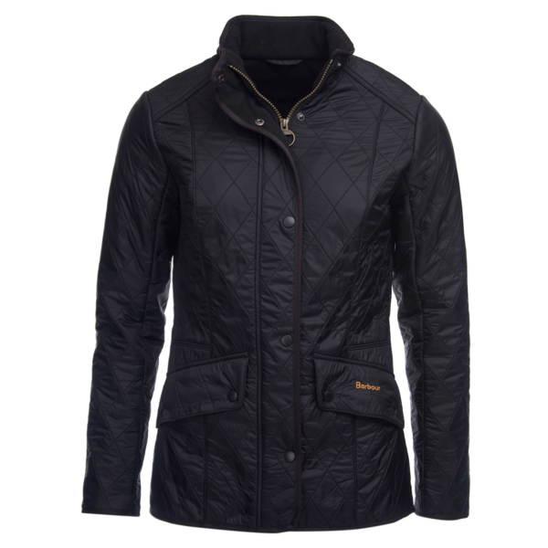 Barbour Womens Cavalry Polarq Jacket Black