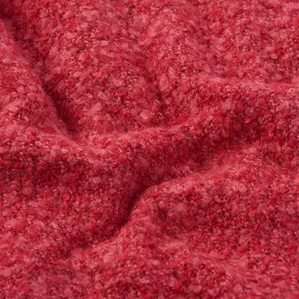 Barbour Womens Megan Boucle Wrap Claret Super Soft Scarf