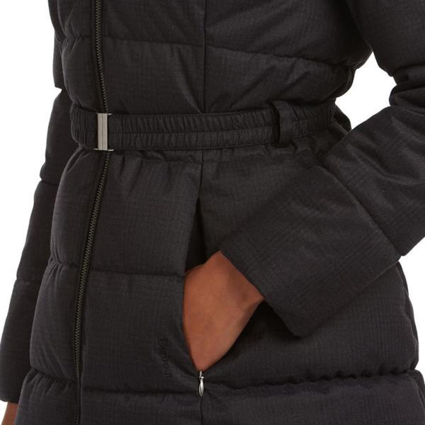 Barbour Womens Oykel Quilt Jacket Black Concealed Side pocket