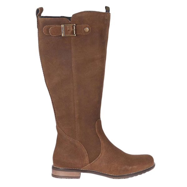 Barbour Rebecca Boot Brown Suede