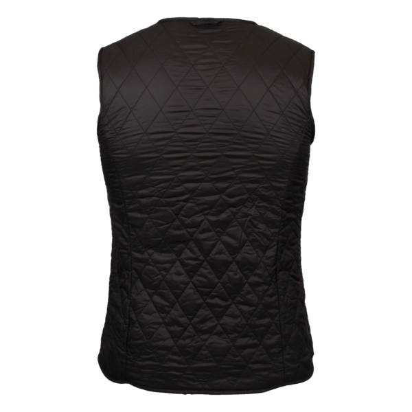 Barbour Womens Hornbeam Reversible Liner Gilet Black/Black Back Classic Quilted Design