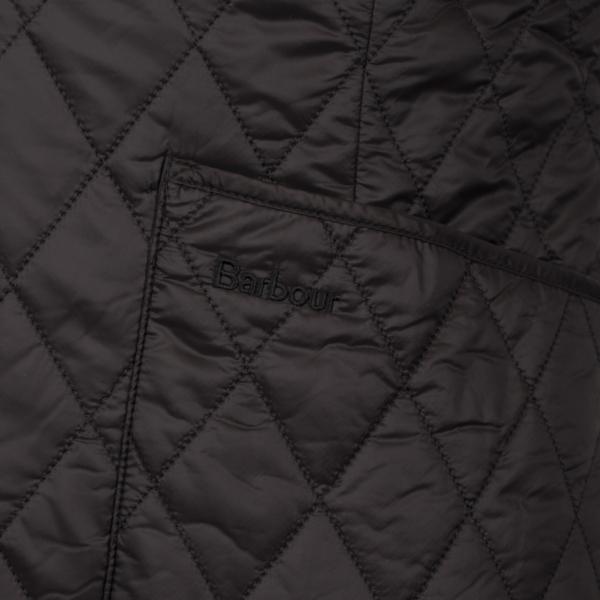 Barbour Womens Hornbeam Reversible Liner Gilet Black/Black Patch Pocket
