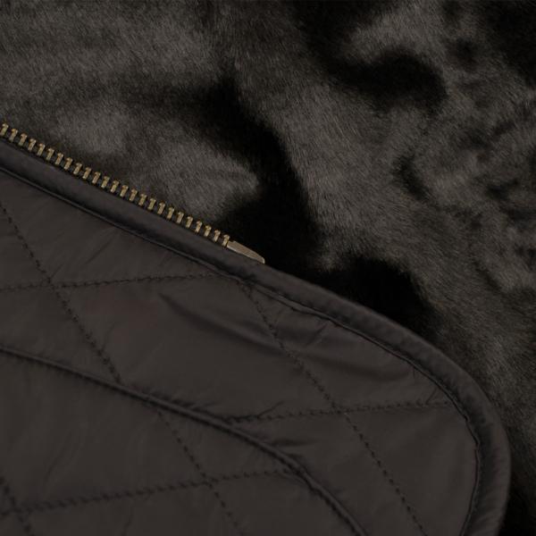 Barbour Womens Hornbeam Reversible Liner Gilet Black/Black Zip Fastening