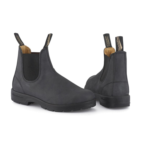 Blundstone Womens Classic Chelsea Boot Rustic Black