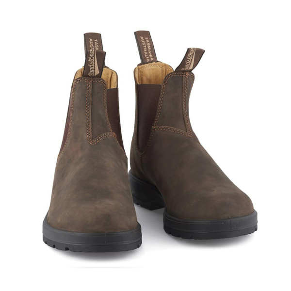 Blundstone Womens Classic Chelsea Boot Rustic Brown