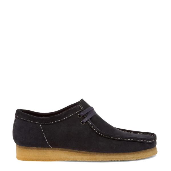 Clarks Originals Wallabee Shoes Ink Suede