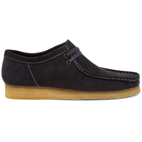 Clarks Originals Wallabee Shoes Ink Suede