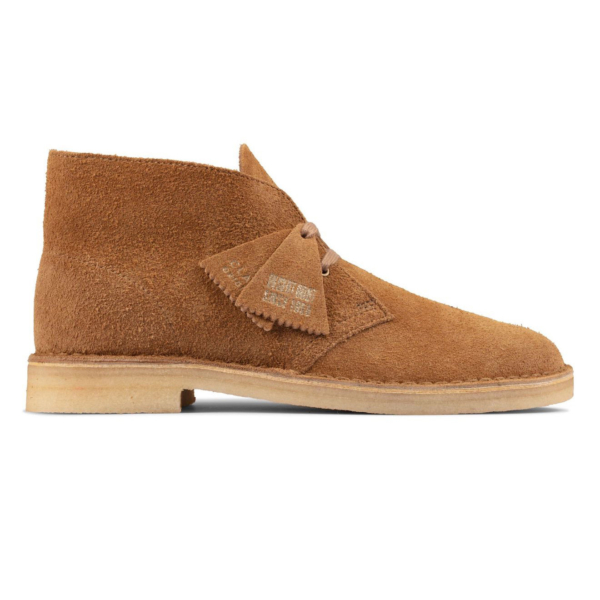 Clarks Originals Womens Desert Boot Nutmeg Suede