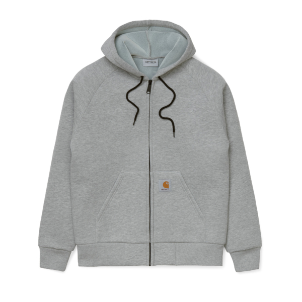 Carhartt Car-Lux Hooded Jacket Grey Heather / Grey