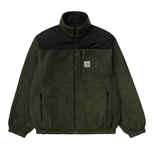 Carhartt Denby Reversible Jacket Black / Cypress